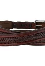 Tony Lama Belts Adult - Tenaya Center Laced Belt Brown