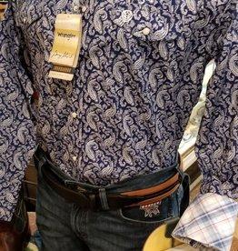 Wrangler Men's Wrangler George Strait Troubador Shirt