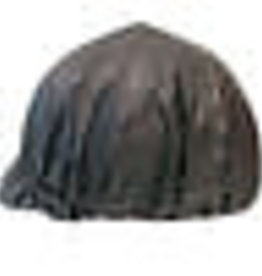 Intrepid Vinyl Rain Helmet Cover - Black