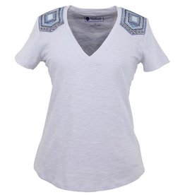 Outback Women's Outback Western Saddle T-Shirt, White - Reg $36.95 NOW $20!