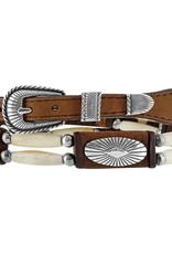 Justin Belts Hatband - High Plains