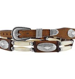 Justin Belts Hat Band - High Plains, Brown