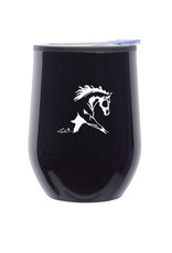 Black Stemless Wine Tumbler