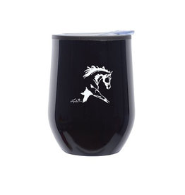 Black Stemless Wine Tumbler