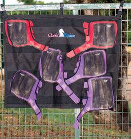 Classic Equine Hanging Wash Rack Black