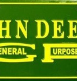 Western Fashion Accessories License Plate - John Deere - General Purpose