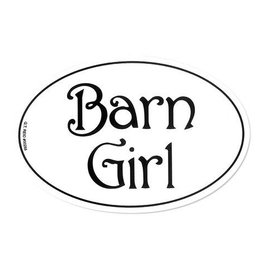 "Decal - ""Barn Girl"" Euro Style"