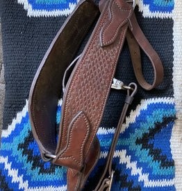 Used - Heavy Breast Collar, Basket Weave Design - Horse Size