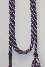 "Double Diamond Lead Rope 5/8"" x 10' - Purple"