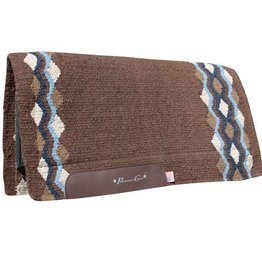 Pro-Choice Professional's Choice Navajo Felt Blanket: Tempe, Chocolate/Royal