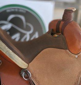 """Circle Y Circle Y Custom Alpine Flex2 Saddle - 15.5"""""""