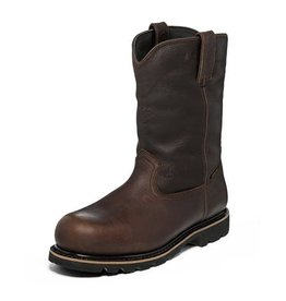 Justin Work Boots Men's Justin Miner Dark Brown Composite Toe Workboot