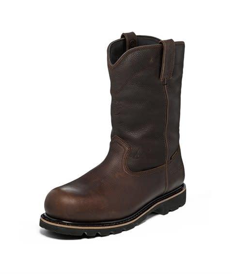 Justin Work Boots Men's Justin Miner Dark Brown Comp Toe