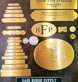Horse Fare Products Engraved Plates & Tags