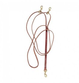 Tough-1 Leather Draw Reins leather