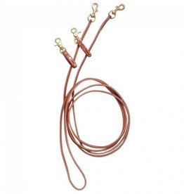 Circle L Leather Pully Draw Reins leather