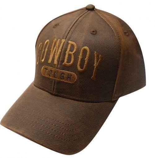 Cowboy Tough Baseball Cap - Gass Horse Supply   Western Wear edde4e7ba1a