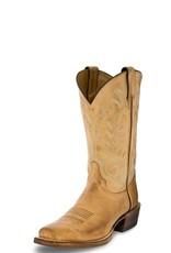 Justin Western Men's Justin Hank Western Boots - Tan
