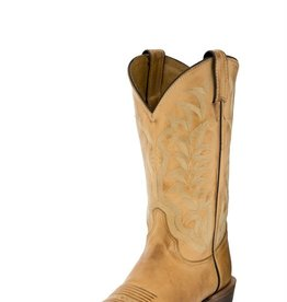 Justin Western Men's Justin Hank Western Boots - Tan