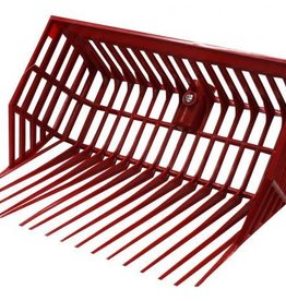 Little Giant Durapitch2 Replacement Basket Style Fork Head - Red