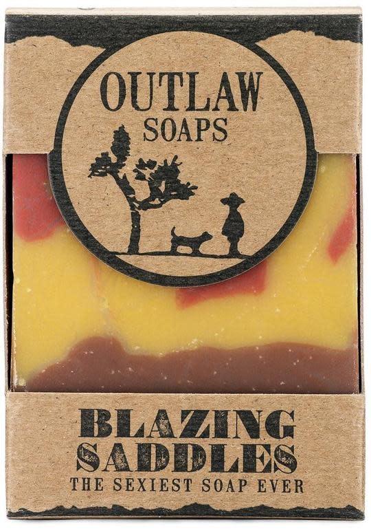 Outlaw Soaps Outlaw Handmade Bar Soap - Blazing Saddles