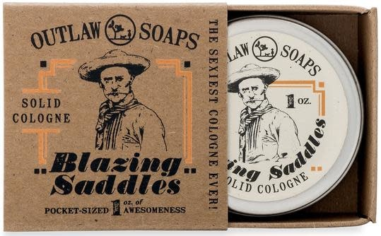 Outlaw Soaps Outlaw Solid Cologne - Blazing Saddles