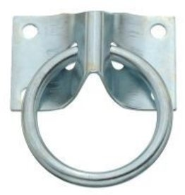 "Tough1 Hitching Ring - 1 3/4"" x 2 1/2"" plate. .306 x 2 ID ring."