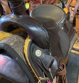 """Circle L 16"""" FQHB Circle L Used Trail/Roper Saddle - D. Oil"""