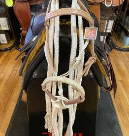 Circle L Circle L Rugged Bosal, Headstall and Double Cotton Reins