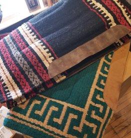 Lamprey Wool Top Saddle Pads, Wool Fleece Lined