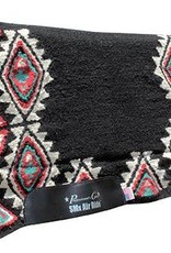 Professional's Choice Comfort-Fit SMx Air Ride Pad: Buckeye, Black & Turquoise