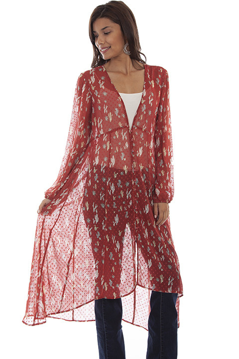 Scully Leather Women's Scully Swiss Dot Duster - Medium