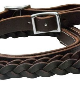"Showman Showman Braided Roping Reins - 1""x6.5'"