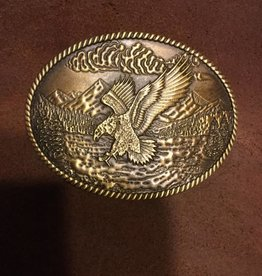 Western Fashion Accessories Belt Buckle - Eagle Landing