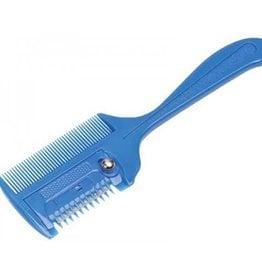 Lamprey Plastic Thinning Comb Blue OS