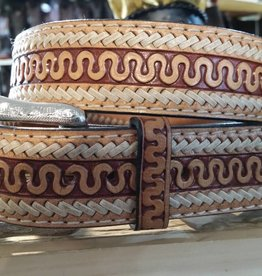 Twisted X Adult - Twisted X Serpent Tooled Belt