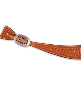 EquiBrand Spur Straps Square Lt. Oil Small