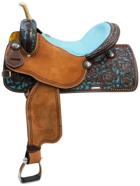 "Showman 16"" FQHB Showman® Barrel Saddle"
