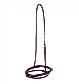 Tough1 Flash Noseband - Brown, Full Size