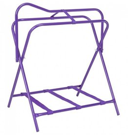Tough-1 Folding Floor Saddle Rack