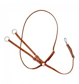 Tough1 Harness Leather Martingale