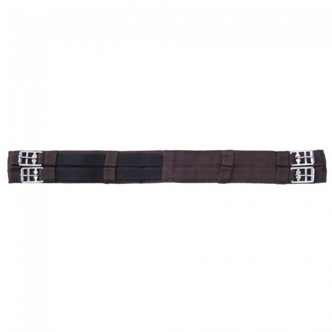 Tough-1 Girth - Mini English Girth w/Elastic Brown - Size 26 (Reg $22.88 NOW 40% OFF)