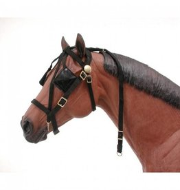 Tough1 Mini-Driving Bridle w/Overcheck