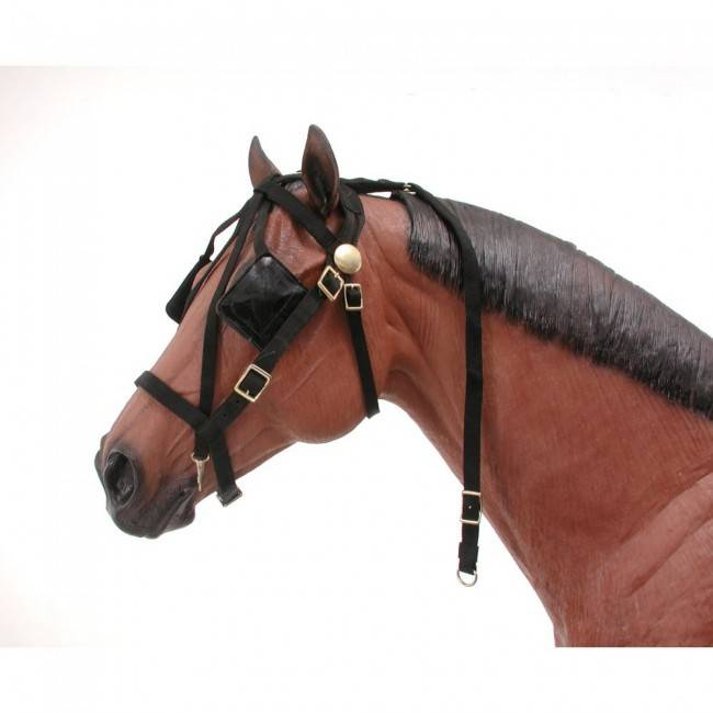 a82cb8e2349f Tough1 Mini-Driving Bridle w Overcheck - Gass Horse Supply   Western ...