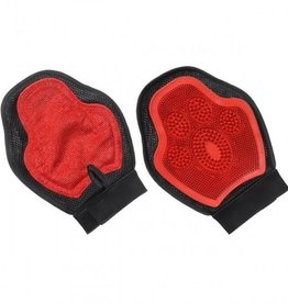Tough-1 Scrub and Shed Mitt Red/Blk