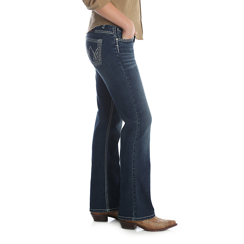 Wrangler Women's Wrangler Shiloh Low-Rise Boot Cut Jeans - WRS40TA
