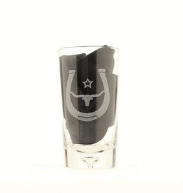 M & F Tumbler - Steerhead, Large Glasses, 4-pc - 16.5oz