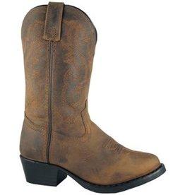 Smoky Mt Toddler's Denver Western Boots, Brown