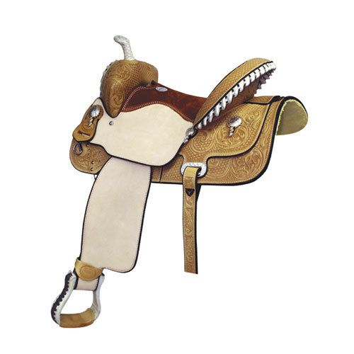 """Billy Cook Saddlery Billy Cook Saddlery - Paycheck Supreme Barrel Saddle, 27Lb - 15"""" (Flank Cinch Not Included) - Was $1395 now $955!!!"""
