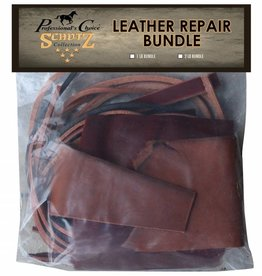 Leather Bundle - 1 lb Scrap Leather